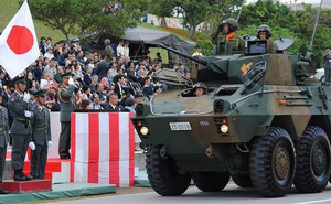 """""""Samurai Nhật"""" mài kiếm, luyện binh khiến Trung Quốc bất an"""