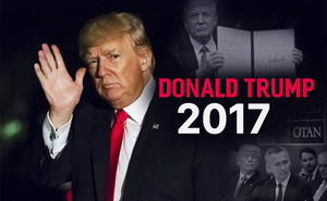 """Tổng thống Trump với 10 quyết định """"đảo ngược trật tự thế giới"""" năm 2017"""