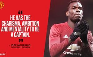 Vì sao Paul Pogba xứng đáng là đội trưởng mới của Man United?