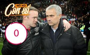 """Con số biết nói: Lý do Mourinho """"ngược đãi"""" Rooney"""