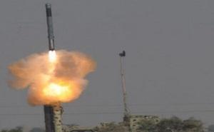 Ấn Độ phóng thử thành công tên lửa BrahMos từ mặt đất