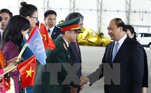 Thủ tướng Nguyễn Xuân Phúc tới New York, bắt đầu chuyến thăm Hoa Kỳ