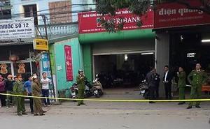 Hơn 1 tỷ đồng đã bị cướp tại ngân hàng ở Bắc Giang