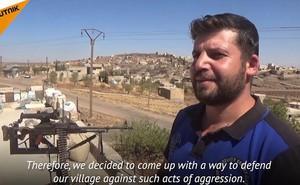 """Kỹ sư công nghệ thông tin Syria chế tạo robot """"bắn tỉa điện tử"""" canh giữ làng"""