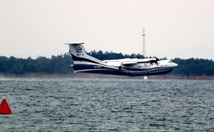 Video: Thủy phi cơ Trung Quốc lớn nhất thế giới thử nghiệm dưới nước