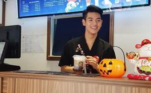 Danh tính hotboy tiệm trà sữa ở Hà Nội khiến dân mạng truy tìm ráo riết những ngày qua