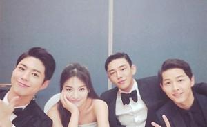 """Song Hye Kyo tiết lộ chuyện Song Joong Ki """"dằn mặt"""" đàn em khi đóng phim tình cảm cùng vợ"""