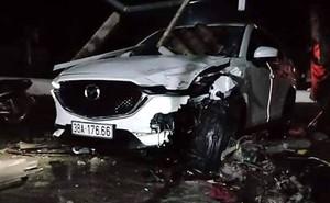 Phó phòng huyện lái ô tô tông chết người đàn ông