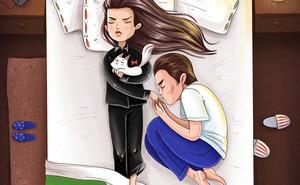 """Bói vui tình cảm vợ chồng qua tư thế nằm ngủ: Số 7 sẽ khiến bạn """"cười rụng rốn"""""""