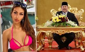 Nhan sắc nóng bỏng của Hoa hậu vừa được nhà vua Malaysia cưới làm hoàng hậu