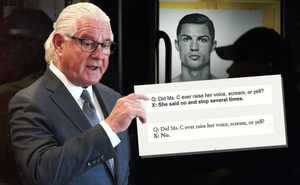 """""""Bôi trơn bằng nước bọt"""" - chứng cứ mới đưa Ronaldo đến gần vành móng ngựa hơn"""