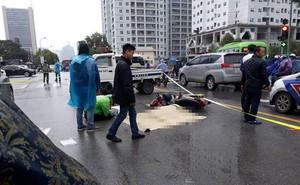 Người đàn ông đi xe máy tử vong giữa phố Hà Nội sau va chạm với ô tô