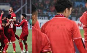 Trên áo Xuân Trường viết 2 cái tên khiến CĐV Việt Nam rưng rưng xúc động