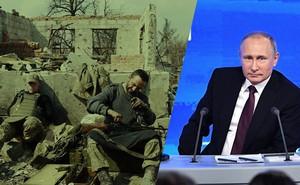 """TT Putin đối đáp đanh thép khi bị PV Kiev cáo buộc: """"Ông nổ súng nhằm vào người Ukraine"""""""