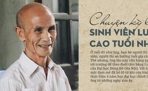 Chuyện kì lạ về sinh viên Luật cao tuổi nhất Việt Nam