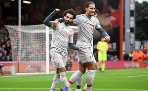 Salah lập hat-trick, Liverpool gây áp lực lớn lên Man City