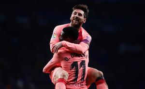 """Messi xuất thần, thắp sáng derby Catalan bằng trận thắng """"hủy diệt"""""""