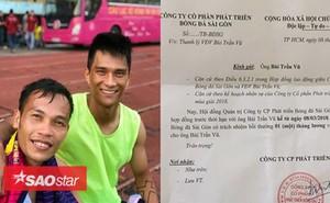 Những vụ thanh lý hợp đồng 'cười ra nước mắt' của bóng đá Việt Nam