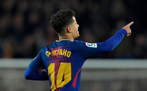 Xe bị phạt, nhà bị trộm, Coutinho vẫn tỏa sáng trong đại thắng của Barca