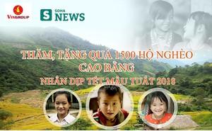 Tết người nghèo Cao Bằng 2018: Sân khấu giản dị giữa thung lũng lộng gió