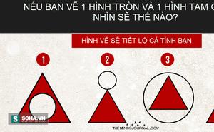 Hình tròn và hình tam giác: Chọn vẽ thế nào sẽ tiết lộ cá tính của bạn