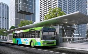 Dừng triển khai tuyến buýt nhanh BRT 02 Kim Mã-Hòa Lạc