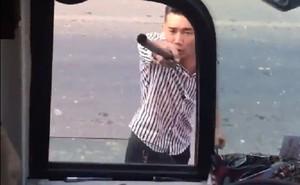 Nhóm côn đồ chặn xe, đánh dằn mặt tài xế không cho bắt khách ở Đồng Nai