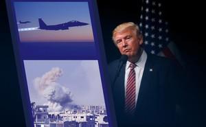 """Những """"giới hạn mong manh"""" nào của luật pháp cho phép ông Trump tấn công Syria?"""