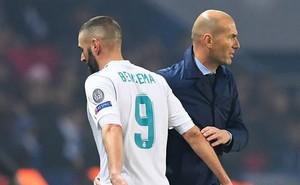 HLV Zidane bất ngờ lên tiếng về tương lai của Benzema