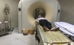 Đầu choáng váng, tài xế taxi Mai Linh bị đánh nhập viện chụp cắt lớp