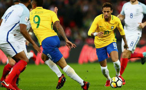 Ngôi sao Neymar thề cùng Brazil vô địch World Cup