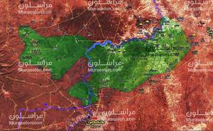 """""""Hổ Syria"""" đạn lên nòng chực nổ súng, quân thánh chiến ở Homs lập tức xin hàng"""