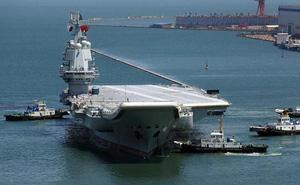 Đua với Mỹ, Trung Quốc ráo riết lập biên đội tàu sân bay thứ hai