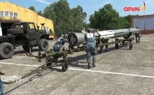 Sư đoàn Phòng không 375 huấn luyện bảo đảm đạn tên lửa