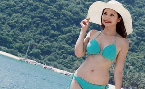 Ảnh bikini hiếm hoi của Kiều Anh 'Phía trước là bầu trời'