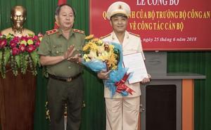 Công an tỉnh Vĩnh Long có tân phó giám đốc