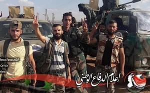 Quân đội Syria dồn binh kết liễu IS trên sa mạc miền đông