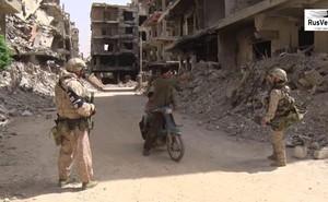 Quân cảnh Nga, những người Kadyrov trong tử địa Douma, Syria