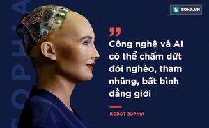 Tại sao Sophia - cỗ máy đầu tiên trên thế giới có quyền công dân - lại đến Việt Nam?