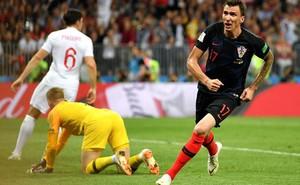 Anh 1-2 Croatia: Mandzukic sút tung lưới Anh, đưa Croatia vào trận chung kết