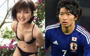 """Sau khi tạo """"địa chấn"""" tại World Cup 2018, sao tuyển Nhật lập tức cưới vợ nóng bỏng"""