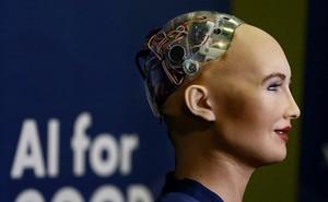VIDEO: Robot Sophia, robot đầu tiên có quyền công dân nói gì khi tới Việt Nam?