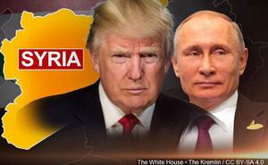 """Tổng thống Putin ngồi """"ghế lái"""" ở Syria, quân Mỹ ngậm ngùi về nước?"""