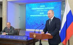 Tổng thống Putin tiết lộ về 25 triệu lượt tấn công nhắm vào Nga suốt thời gian World Cup