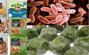 Rau, củ quả đông lạnh bị nhiễm vi khuẩn có thể gây tử vong