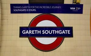 Ga tàu điện ngầm ở London đổi tên thành Gareth Southgate