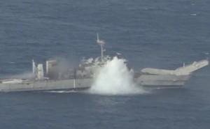 Mỹ - Nhật - Úc tập trận đánh chìm tàu giữa lúc căng thẳng với Trung Quốc