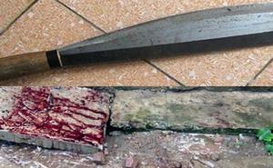 Dùng dao phay chém hàng xóm chết tại chỗ