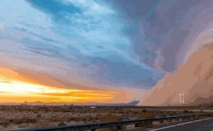 Nhiếp ảnh gia chuyên săn được cảnh tượng cơn bão cát khổng lồ trên bầu trời Arizona, Mỹ