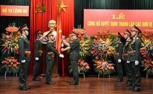 Bộ tư lệnh 86 công bố quyết định thành lập các đơn vị trực thuộc
